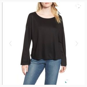 NWOT Madewell Libretto Wide Sleeve Top